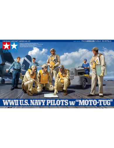 Maqueta Pilotos de Marina Estados Unidos (TAMIYA 61107). Military Model Kit TAMIYA 61107 Maquetas Tanques, figuras y otros 2ª...