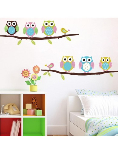 Vinilos Decorativos Buhos. Owls Wall Stickers Vinyl Decal Bedroom V7V68 Vinilos Decorativos, Stickers