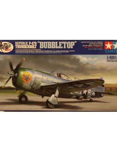 Maqueta Avión Republic P 47 THUNDERBOLT (TAMIYA 61510). Aircraft Model Kit TAMIYA 61510 Maquetas Aviones de Guerra