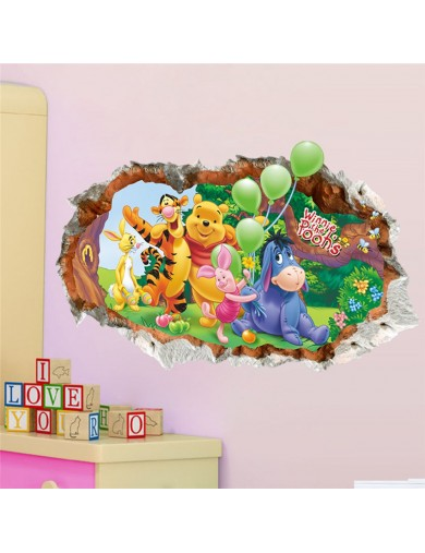 Vinilos Decorativos 3D Winnie the Pooh. Wall Stickers Vinyl Decal 3DWinnie Vinilos Decorativos, Stickers