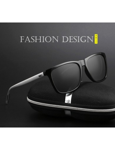 Gafas de Sol Polarizadas. Aluminum+TR90 Vintage Sunglasses UV400 eyewear
