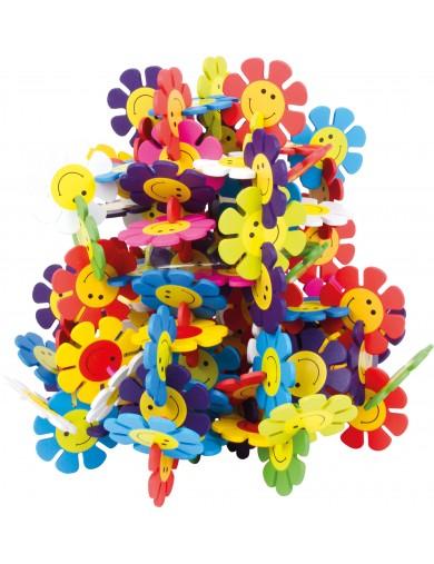 Juego Construcción Infantil de Madera, Flores LEG 6573 Juegos y Juguetes de Habilidad
