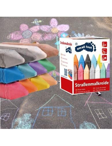 Tizas de Colores para Calle, Patio, Niños LEG 10379 Juegos al Aire Libre