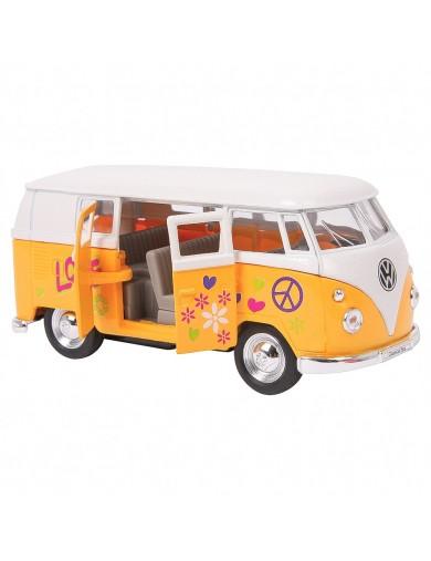 Volkswagen VW Type 2 hippie, Transporter T1, Miniatura Metal a Escala 1/34 LEG 9329