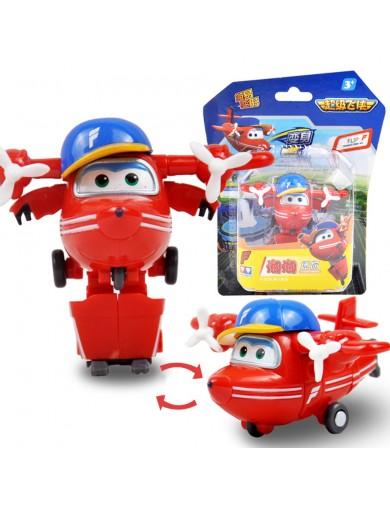 Super Wings Flip figura transformable. Superwings Action Figures Transformation ACB720021 Figuras y Sets de Acción