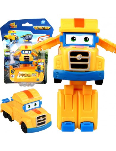 Super Wings Poppa figura transformable. Superwings Action Figures Transformation ACB720025 Figuras y Sets de Acción