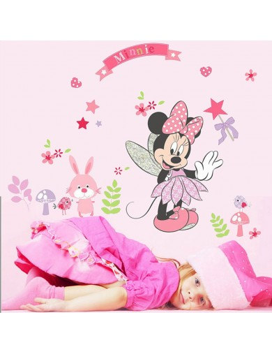 Vinilos Decorativos Minnie Mouse. Wall Stickers Vinyl Decal QT10637 Vinilos Decorativos, Stickers