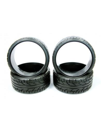 Para coches rc 1/10, neumáticos drift Perfil-V Medios EZRL3006 TRL212