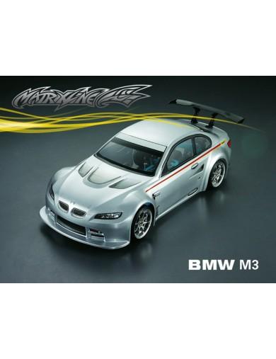 Carrocería RC BMW M3, 1/10 190mm Sin Pintar. Clear Body PC201207 Carrocerias RC