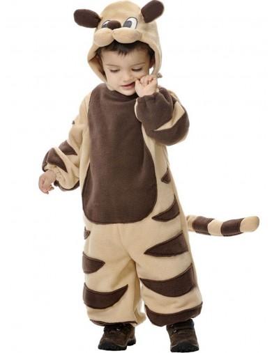 Disfraz de Tigre peluche, Para Bebe de 1 año. Halloween, Carnaval. Tiger Costume for BabiesDisfraces Infantiles