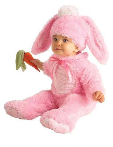 Disfraz de Conejito Para Bebés de 0 a 6 meses. Halloween, Carnaval. Pink Rabbit Costume for BabiesDisfraces Infantiles