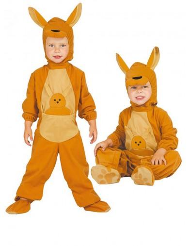 Disfraz de Canguro saltarín, Para Bebés de 6 a 12 meses. Halloween, Carnaval. Kangaroo Costume for BabiesDisfraces Infantiles