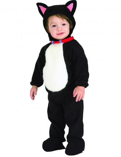 Disfraz de Gato Para Bebés de 6 a 12 meses. Halloween, Carnaval. Cat Costume for BabiesDisfraces Infantiles