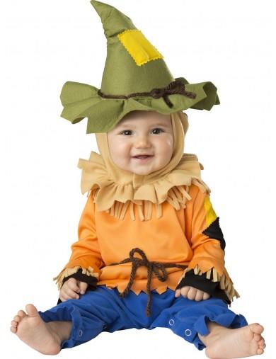Disfraz de Espantapájaros, Para Bebés de 12 a 18 meses. Halloween, Carnaval. scarecrow Costume for BabiesDisfraces Infantiles