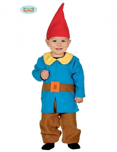 Disfraz de Enanito Minero, Para Bebés de 6 a 12 meses. Halloween, Carnaval. Dwarf Costume for BabiesDisfraces Infantiles