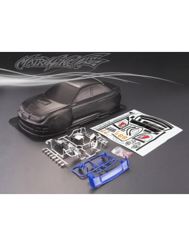 Carrocería RC Subaru Impreza WRC, 1/10 190mm. Sin Pintar. Clear Body PC201010 Carrocerias RC