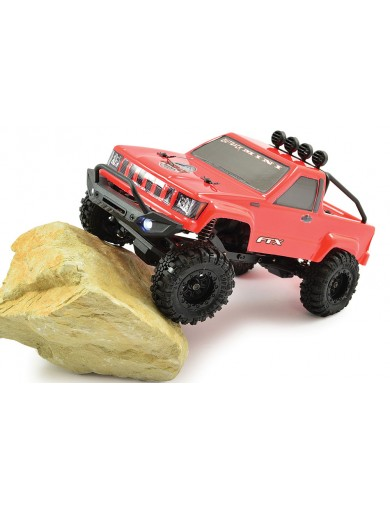 Crawler RC 1/24 4WD RTR Rojo. FTX OUTBACK MINI TRAIL BLACK FTX5502R Coches RC
