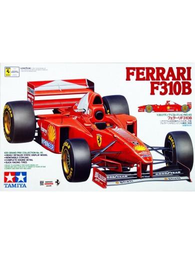 Maqueta en KIT Ferrari F310B 1/20 (TAMIYA 20045). F1 Car model plastic kit TAMIYA 20045 Maquetas de Coches en Kit de Plástico