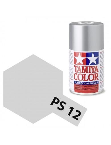 Pintura Policarbonato / Lexan PS-12 Color PLATA, para Carrocerías R/C (TAMIYA 86012) TAMIYA 86012 Pinturas Carrocerias RC Pol...