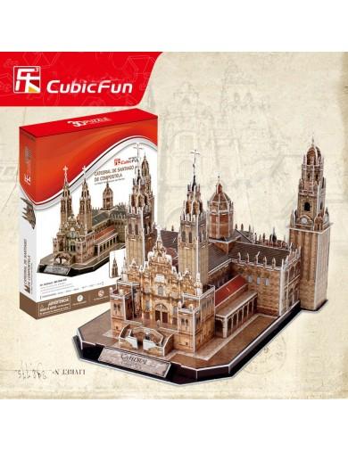 PUZZLE 3D Catedral de Santiago de Compostela 101 piezas MC184h-ES Puzzles y Rompecabezas