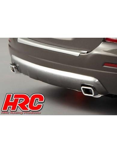 Tubos de Escape Dobles, para Coches RC 1/10, admiten LED (HRC 25113C) HRC 25113C Accesorios Carrocerias RC