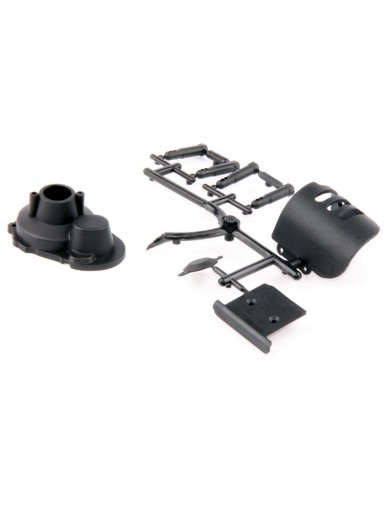 Protector motor plástico S10 Twister BX/TX (LRP 124017) LRP 124017 Recambios LRP S10 TWISTER BUGGY