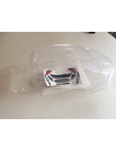 Carrocería Rally Rc Ford Fiesta RS, 1/10 190mm (Clear Body) D-FIESTARS Carrocerias RC