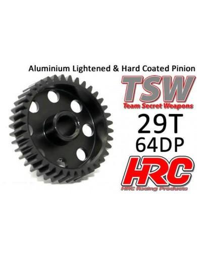 Piñon Reforzado 29T, Pitch 64 para Coches Rc (HRC76429AL). Pinion Gear, Aluminum HRC76429AL Piñones y Coronas RC