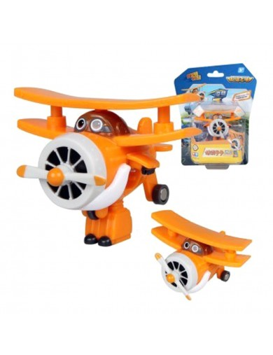 Super Wings Grand Albert figura transformable. Superwings Action Figures Transformation ACB710060 Figuras y Sets de Acción