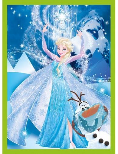 Frozen Puzzle 12 Cubos con Maletín 153293 Puzzles y Rompecabezas