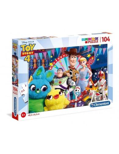 Toy Story 4 Puzzle 104 piezas. Puzzles clementoni 153390 Puzzles y Rompecabezas