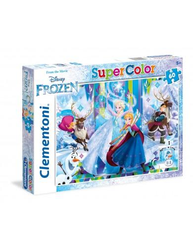 Frozen puzzle 60 piezas, Elsa, Anna y Olaf. Puzzles Clementoni 151755 Puzzles y Rompecabezas