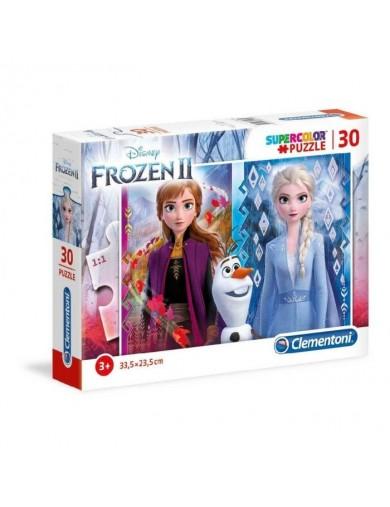 Puzzle 30 piezas Frozen 2. Elsa, Anna, Olaf. Puzzles clementoni 153376 Puzzles y Rompecabezas