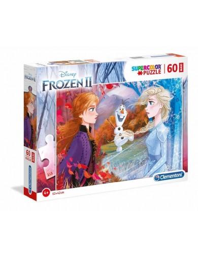 Puzzle 60 piezas MAXI Frozen 2. Elsa, Anna, Olaf. Puzzles clementoni 153378 Puzzles y Rompecabezas