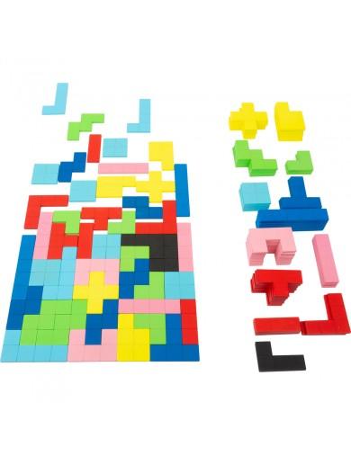 Tetris rompecabezas de Madera. Puzzle Tetris de madera 114 piezas. Juguetes motricidad. Juguetes de madera 11403 Juegos y Jug...