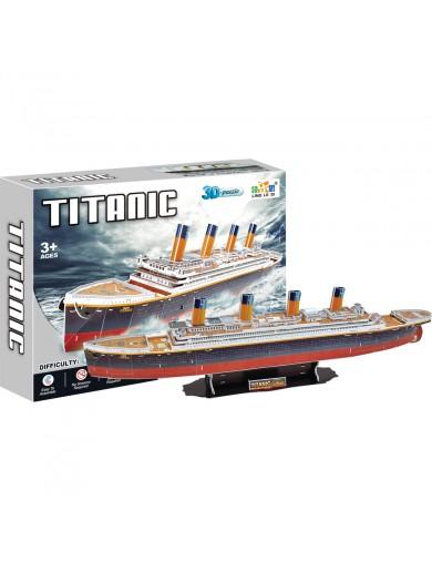Puzzle 3D RMS Titanic 113 piezas LEG 8930 Puzzles y Rompecabezas