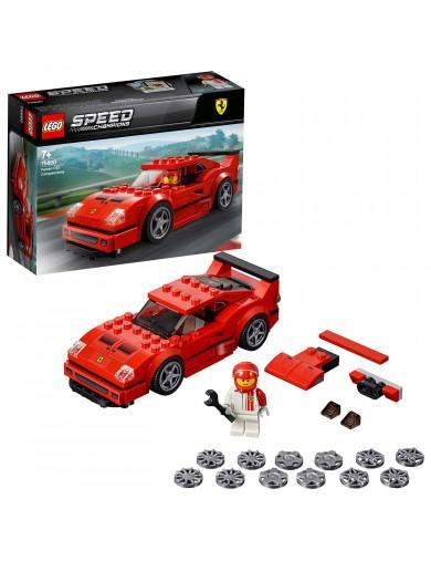 LEGO SPEED CHAMPIONS 75890, FERRARI F40 COMPETIZIONE. Coches LEGO LEGO 75890 LEGO