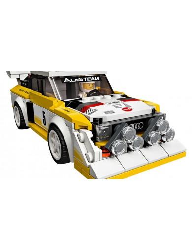 LEGO Speed Champions 76897. 1985 Audi Sport quattro S1. Coches LEGO LEGO 76897 LEGO