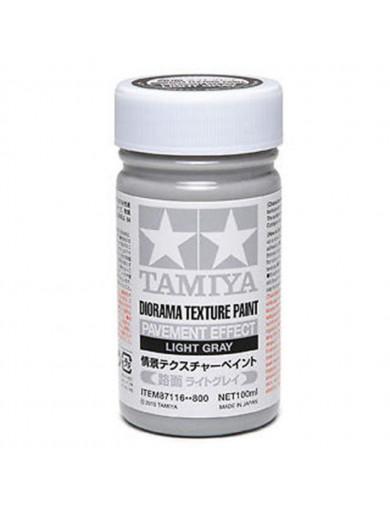 Pintura Efecto Pavimento Para Diorama, Gris Claro (TAMIYA 87116). Pavement Effect Light Gray TAMIYA 87116 Pegamentos y Efecto...
