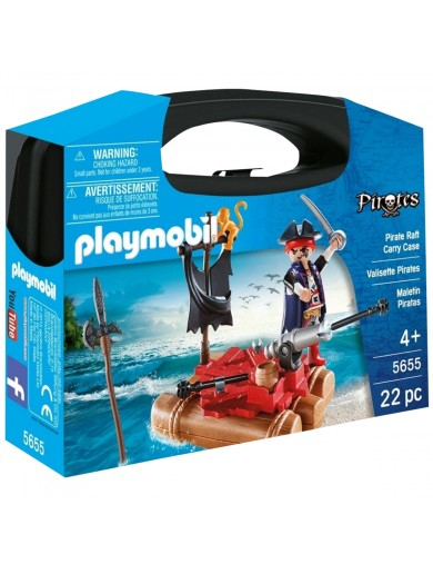 PLAYMOBIL 5655, Maletin Pirata. Muñecos playmobil. PLAYMOBIL Pirates PM5655 Playmobil