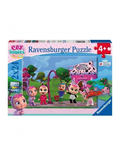 2 Puzzles 24 piezas Bebes llorones, Ravensburger Cry Babies RAVE51038 Puzzles y Rompecabezas