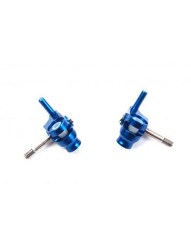 Manguetas Aluminio 1 grado Kyosho Mini-Z MR-015, MR-02 V-III (ATOMIC AR-258-10) ATOMIC AR-258-10 Recambios Mini-Z
