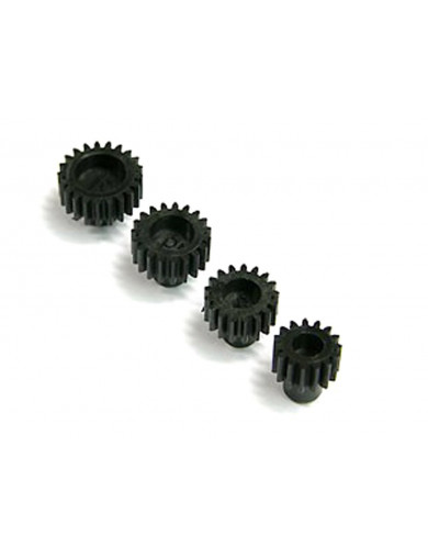 Piñones Mini Z AWD 15, 17, 19, 21T (ATOMIC AWD027). AWD Motor Gear Set ATOMIC AWD027 Recambios Mini-Z