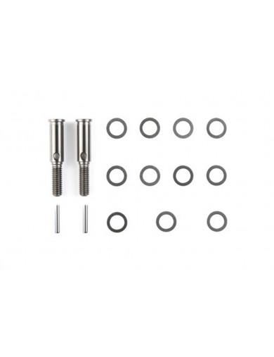 Ejes de Rueda Reforzados M-05, M-03 (TAMIYA 54183). Freewheel Axle Set TAMIYA 54183 Recambios TAMIYA M05, M03 y M-chasis