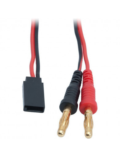 Cable para Cargador Banana a Hembra FUTABA RX/TX 50cm (LRP 65823) LRP 65823 Conectores, Cables y Adaptadores RC