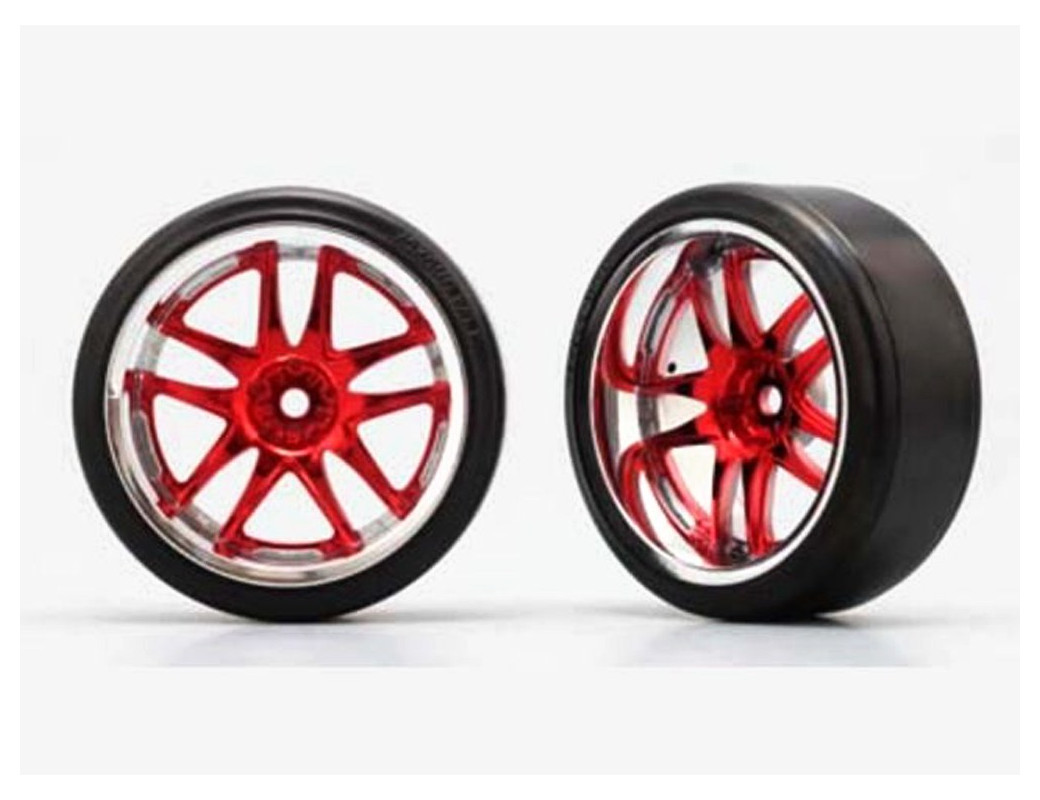 YOKOMO Ruedas Drift RC 1/10 Rays Volk Racing GT-V 10 Brazos (2 uds) (YOKOMO ZR-DR29R) YOKOMO ZR-DR29R