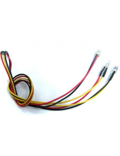 Luces LED 5mm Amarillas Conector TAMIYA (Yeah Racing LK-0009YW) YEAH RACING LK-0009YW Kit de Luces y vinilos RC