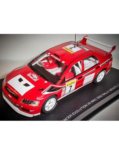 Mitsubishi Lancer Evo VII WRC Coche Slot (AUTOART 13012). Slot Car AUTOART 13012