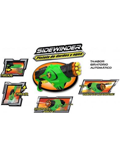 Pistola de Agua y Aire de Juguete SIDEWINDER (EOLO Z2IN1SW1) EOLO Z2IN1SW1 Juegos al Aire Libre