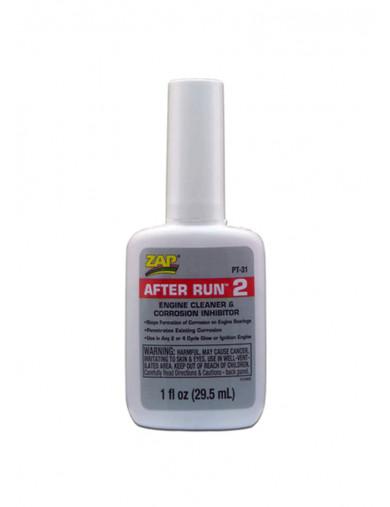 After Run 2, Inhibidor de Corrosion para Motores Nitro / Explosion (ZAP PT-31) ZAP PT-31 Aceites, Siliconas, Pegamentos, Limp...
